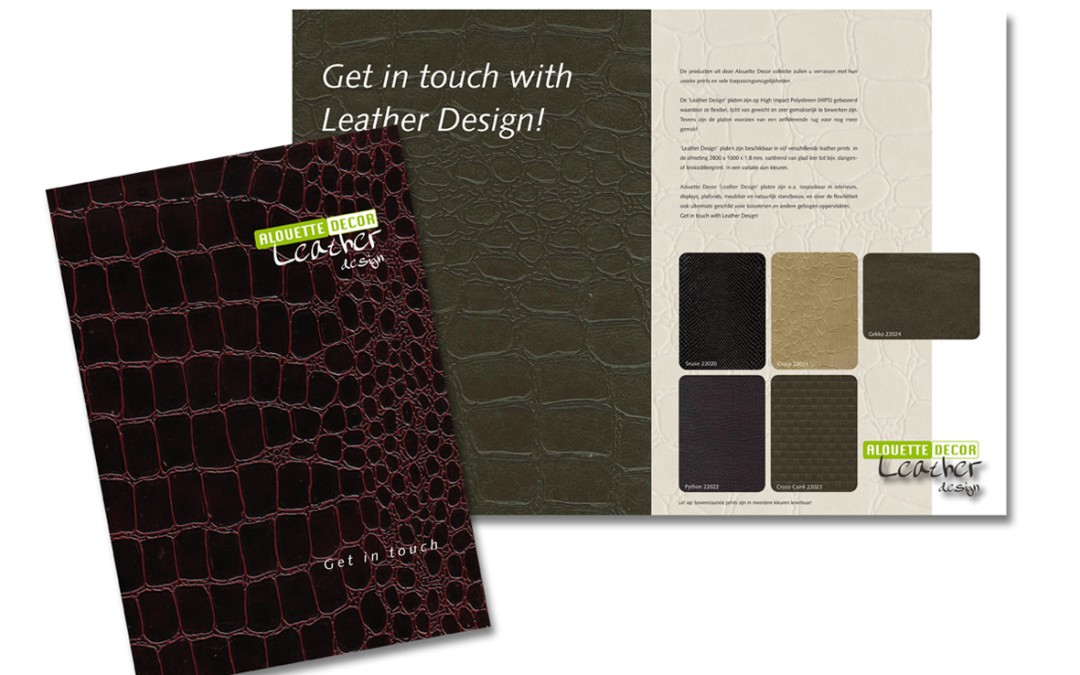 Folder Aloutte Decor Leather