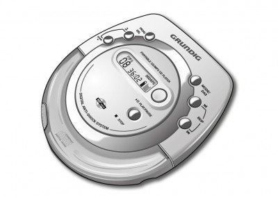 Illustratie Grundig Walkman