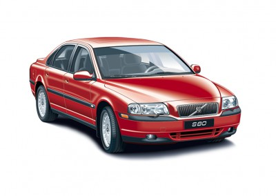 Illustratie Volvo S80