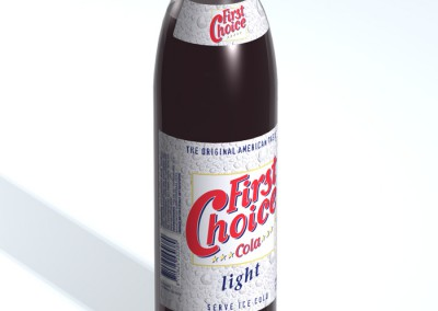 Etiketten First Choice Cola light