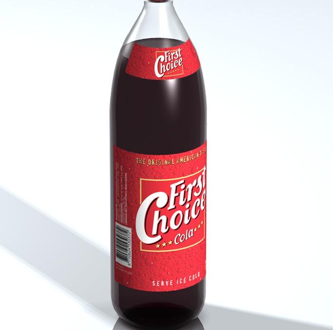 Etiketten First Choice Cola regular