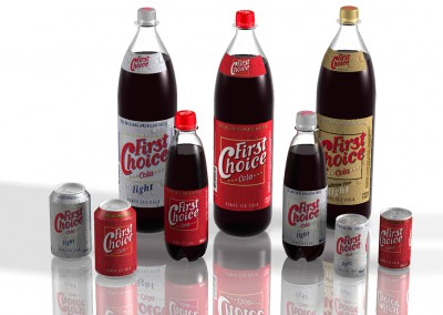Collage First Choice Cola