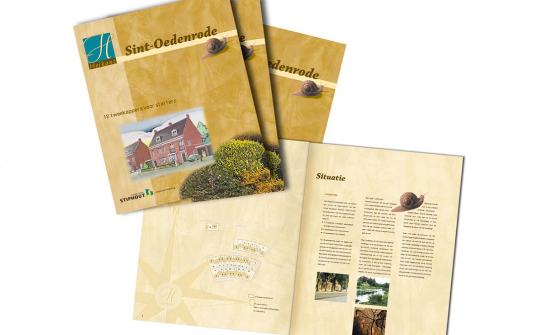 Brochure bouwplan Heikant