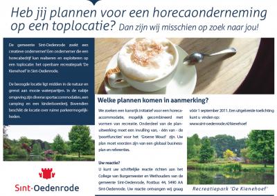 Advertentie gemeente Sint-Oedenrode