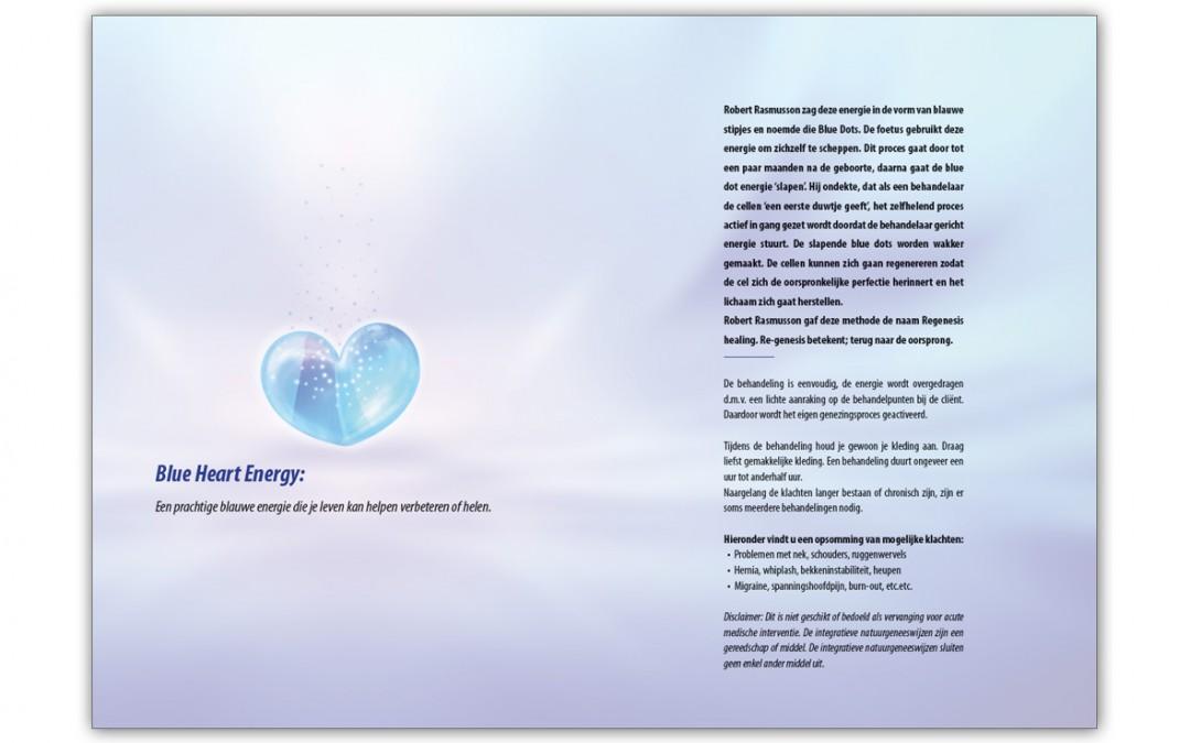 Folder Blue Heart Engergy binnen