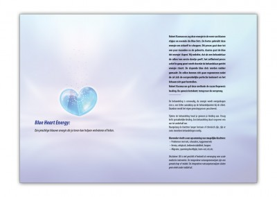Folder Blue Heart Engergy binnen