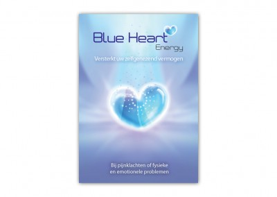 Folder Blue Heart Energy buiten