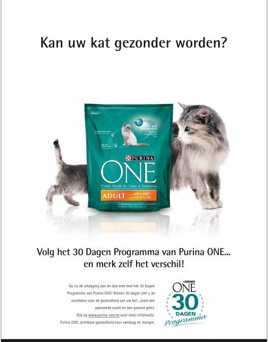 Advertentie ONE