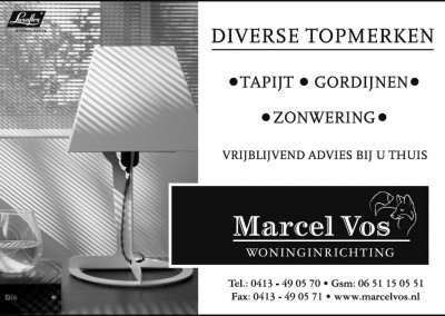 Advertentie Marcel Vos Woninginrichting