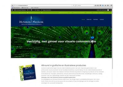 Website Verhoeven Reclame